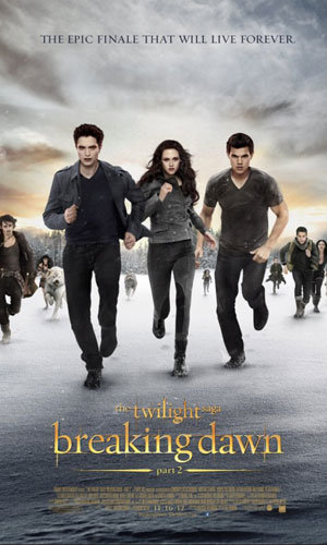 NEW Twilight: Breaking Dawn - Part 2 poster!