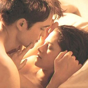 FIRST LOOK: Pics from Breaking Dawn bedroom scene