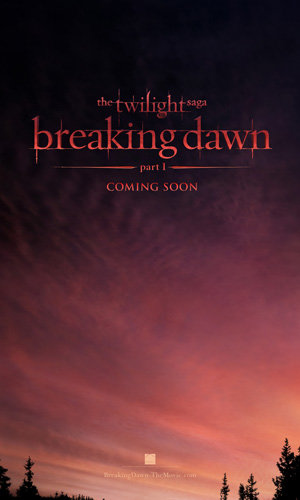 TWILIGHT ALERT: See Breaking Dawn teaser poster