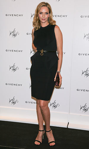 Uma Thurman launches new Givenchy fragrance