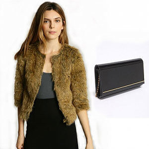 WIN: An Urban Outfitters Faux Fur Jacket and Clutch worth over £150!