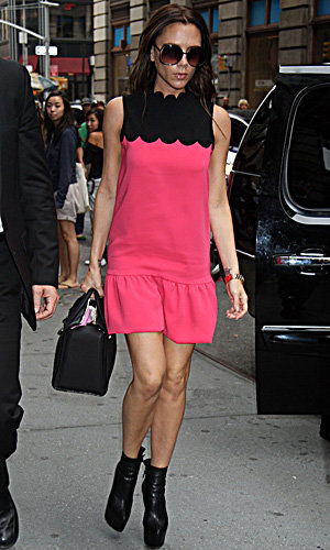 Victoria Beckham hits the big leagues with latest fashion show