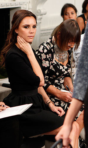 Victoria Beckham wows at New York Fashion Week with her new S/S 11 collection!