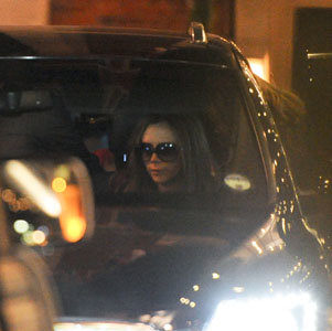 Victoria Beckham takes her family on a dinner date