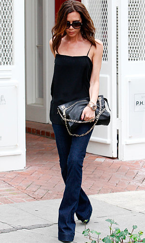 Victoria Beckham hits the shops in LA!