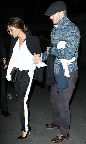 Victoria Beckham gets suited in Lanvin for date night with David