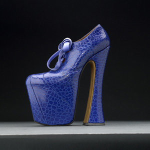 NEW! The world's first Vivienne Westwood shoe exhibition!