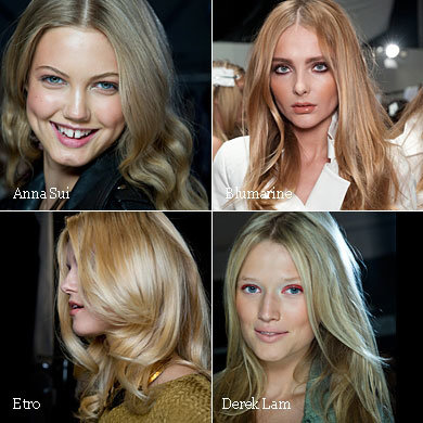 HAIR TRENDS 2011: Try a new hairstyle for spring summer with our trends chart