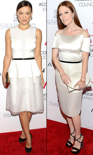Celebrity trend: Julianne Moore, Olivia Wilde and Marion Cotillard go white-hot