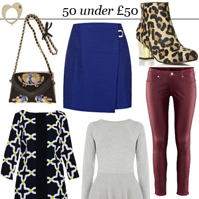 SHOP 50 Under £50: Sales Buys