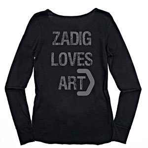 CHECK OUT Zadig & Voltaire's cool new T-shirt