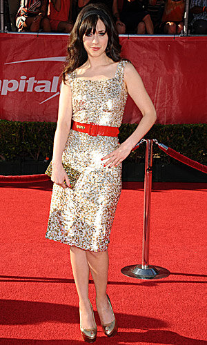 Zooey Deschanel, Jessica Biel and Hayden Panettiere work it at the ESPY awards!
