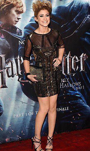 X Factor contestants hit the red carpet at the Harry Potter and the Deathly Hallows premiere!