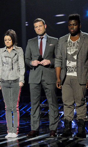 X Factor: Paije Richardson out, Cher Lloyd and Katie Waissel make it through