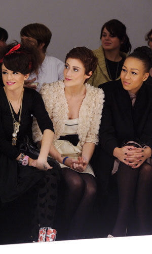 Matt Cardle, Cher Lloyd, Katie Waissel and One Direction hit the Very catwalk show