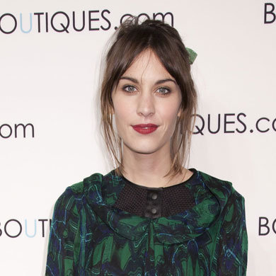 Get Alexa Chung's berry pout and bronzed eyes