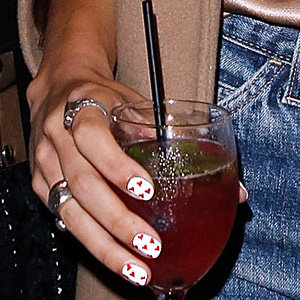 OMG Alexa Chung nails the nail art craze