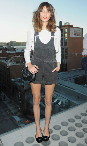 Alexa Chung loves her Charlotte Olympia Kitty flats
