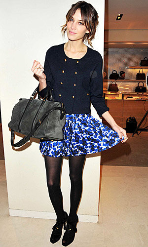 Alexa Chung to design her first fashion line!
