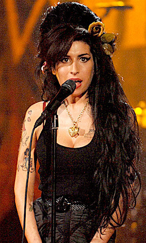Amy Winehouse designs for Fred Perry