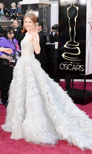 Oscars 2013: Jennifer Lawrence, Amy Adams and Jessica Chastain kick off the red carpet action
