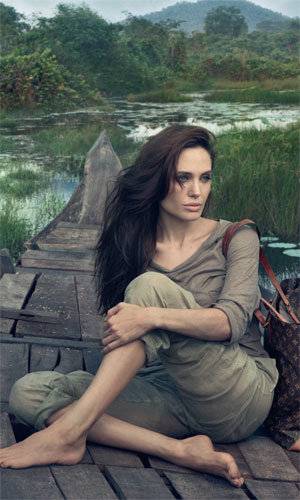 SEE PICS: Angelina Jolie sizzles in Louis Vuitton campaign!