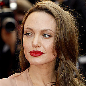 Angelina Jolie's perfect pout