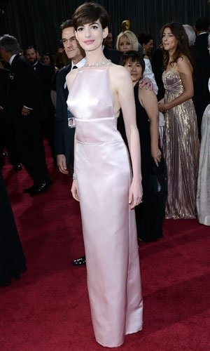 Anne Hathaway reveals why she swapped Oscars dresses at the last minute