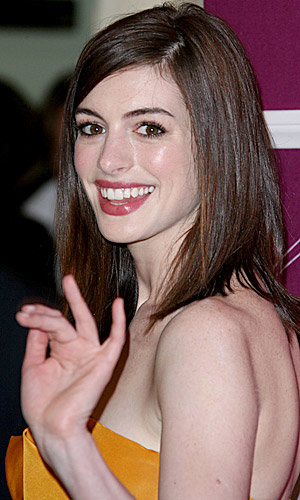 And the Oscar nominees announcement goes to… Anne Hathaway