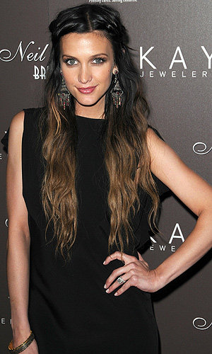 HAIRSTYLE OF THE DAY Ashlee Simpson's boho plaits