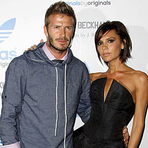 Beckham family designs tees for charity