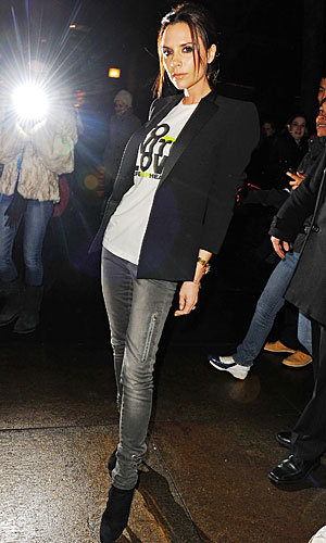 Victoria Beckham steps out at New York Fashion Week