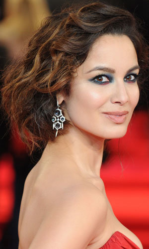 Get Berenice Marlohe's faux bob hairstyle