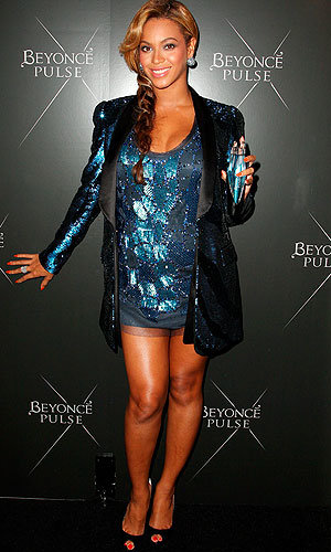 Beyonce wows in Roberto Cavalli at launch of her new fragrance Pulse