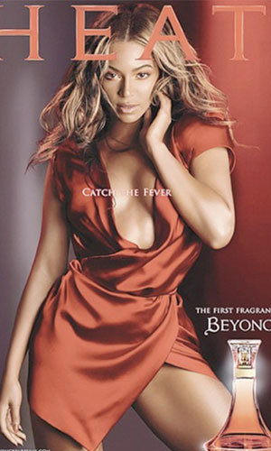 Beyonce sizzles in new perfume ad