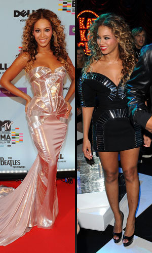 Beyoncé sizzles at the MTV Europe Music Awards!