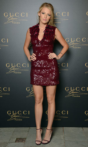 Blake Lively hits Venice for glam Gucci party