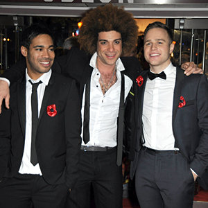 X Factor stars shine as they attend A Christmas Carol film premiere