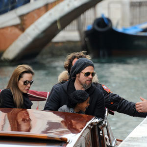 Brangelina relocate to Venice with the kids
