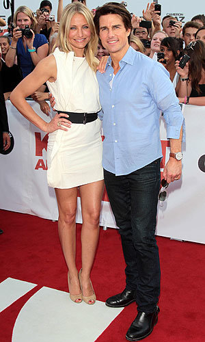 WOW Cameron Diaz sizzles on the red carpet