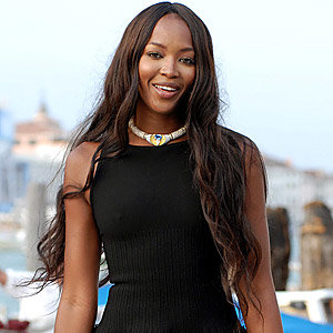 Naomi Campbell is back in fur