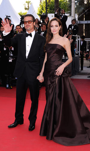 CANNES LATEST: Brad Pitt and Angelina Jolie hit the red carpet for The Tree of Life premiere...