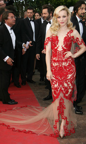CANNES latest: Uma Thurman and Rachel McAdams wow on the Cannes 2011 red carpet