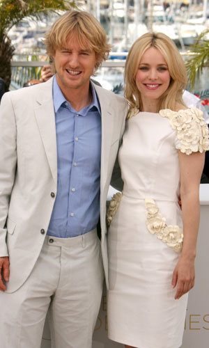 CANNES latest: Photocall for Midnight In Paris stars Owen Wilson and Rachel McAdams