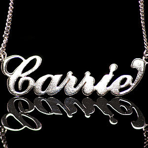 Name necklaces are back - even Cheryl Cole's got one!