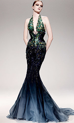 Recession defying gowns from Roberto Cavalli