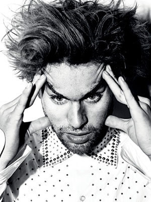 Chace Crawford goes artsy for magazine shoot