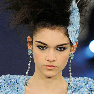 Chanel's Peter Philips talks make-up for the Spring Summer 2012 Couture show…