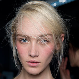 BEAUTY VIDEO EXCLUSIVE: Backstage at Christopher Kane with Chantecaille