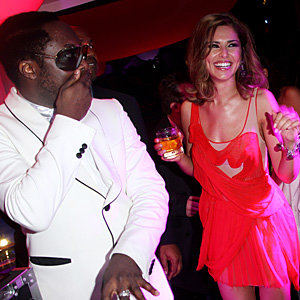 Cheryl Cole arrives in Cannes!